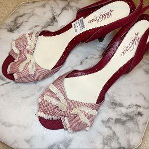 Shoes - Lela Rose X Payless Tweed Bow Slingback Heel
